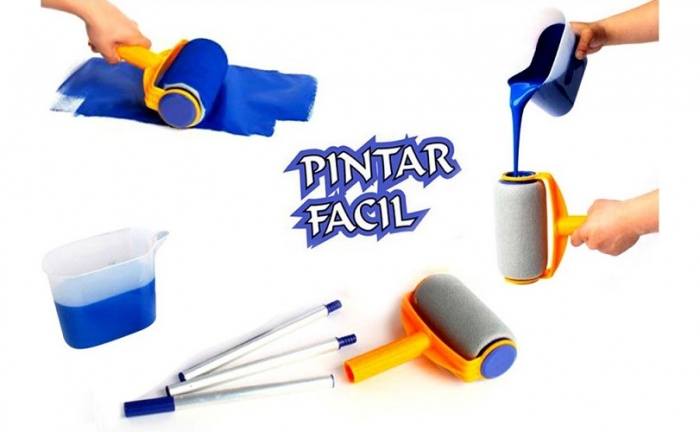 Tools and equipment pintar facil for wall for Wall painting utensils